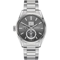 Tag Heuer Carrera Calibre 8 GMT Grey Dial Stainless Steel Me