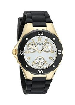 Invicta Women's 38mm Chronograph Black Silicone Stainless St