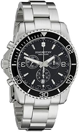 Men's Victorinox Swiss Army 'Maverick' Chronograph Bracelet