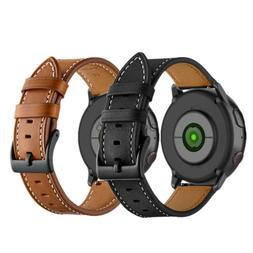 Classic Leather Watch Band Strap For Samsung Galaxy Watch Ac