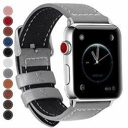 Fullmosa Compatible Apple Watch Band Leather 38mm 40mm 44mm