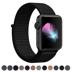Yunsea Compatible for Apple Watch Band 42mm, New Nylon Sport