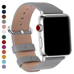 Fullmosa Compatible for iWatch Band 38mm 40mm 42mm 44mm Calf