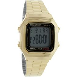 Casio Men's Core A178WGA-1A Gold Stainless-Steel Quartz Watc