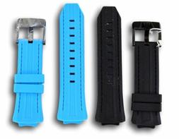 TechnoMarine Cruise Night Vision Watch Band Black / Blue Sil