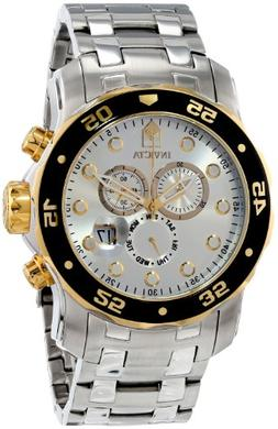 Invicta Men's 80040 Pro Diver Stainless Steel Watch with Lin