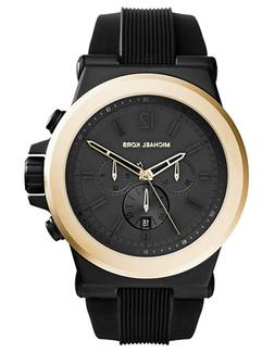 Michael Kors Dylan Gold Tone and Black Chronograph Watch