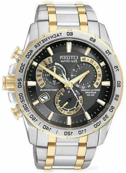 Citizen Eco-Drive Men's AT4004-52E Perpetual Chrono A-T Two-