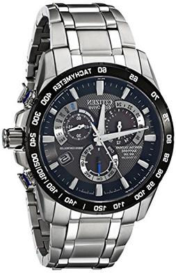 Citizen Men's Eco-Drive Titanium Perpetual Chrono Atomic Tim