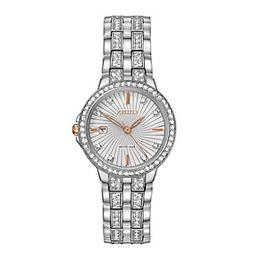 Citizen® Women's Eco-Drive Stainless Steel Silhouette Cr