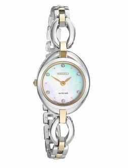 Citizen® Women's Eco-Drive Two Tone Bracelet Watch