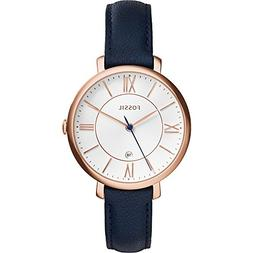 Fossil Women's Jacqueline Quartz Stainless Steel and Leather