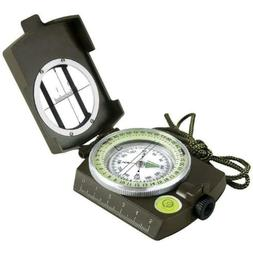 Eyeskey Military Optical Lensatic Sighting Compass with Pouc