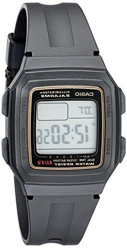 Casio Men's F201WA-9A Multi-Function Alarm Sports Watch