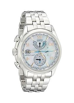 "Citizen Women's FC0000-59D ""World Time A-T"" Stainless Steel"