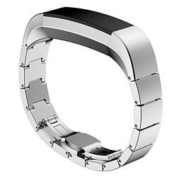 Fitbit Alta  Bands, No1seller Premium Stainless Steel Replac