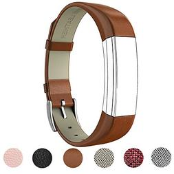 For Fitbit Alta HR and Alta Band With Metal Clasp, Premium S