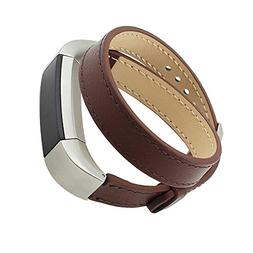 For Fitbit Alta,Coper™Double Tour Genuine Leather Watch Ba