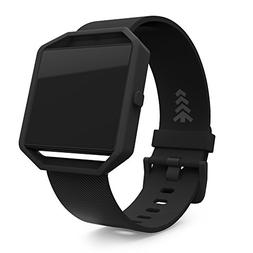 Fitbit Blaze Band, Replacement Watch Bands, Large, Black Ban