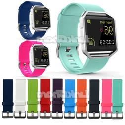 For Fitbit Blaze Watch Replacement Silicone Rubber Band Spor