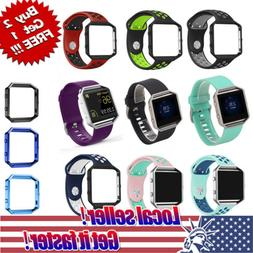 For Fitbit Blaze Watch Replaces Silicone Rubber Band Sport W