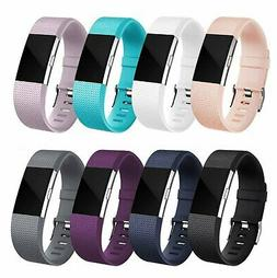 For OEM Fitbit Charge 2 /  2 HR Replacement Silicone Bracele