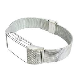 Fitbit Charge 2 Band, Fitbit Accessories Replacement Metal W