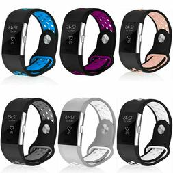 For Fitbit Charge2 Watch Band Replacement Strap Soft Silicon
