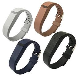 4PCS Fitbit Flex Band,Silicone Replacement Wristband For Fit