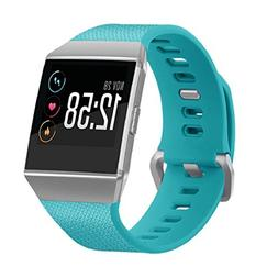 For Fitbit Ionic Watch Band,Vovomay Soft Silicone Replacemen