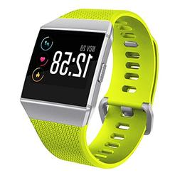 For Fitbit Ionic Watch Bands,Silicone Sport Replacement Stra