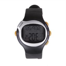 HDE Fitness Sport Pulse Watch with Heart Rate Monitor and Ca