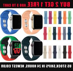 Fitness Silicone Sport Band iWatch Strap For Apple Watch Ser