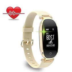 Fitness Tracker, Women Sport Tracker Smart Watch Band Bracel