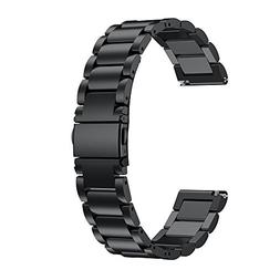LDFAS Compatible for Fossil Q Band, 22mm Solid Stainless Ste
