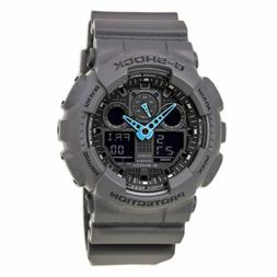 Casio Men's GA-100C-8ACR G-Shock Analog-Digital Watch, Grey/