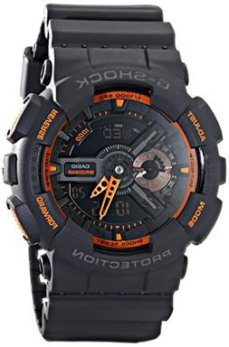 Casio Men's GA-110TS-1A4 G-Shock Analog-Digital Watch With G