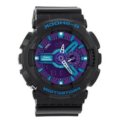 Casio Men's GA110HC-1A G-Shock Black and Red Multi-Function