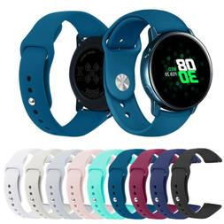 For Samsung Galaxy Watch Active 2/1 Replacement Silicone Spo