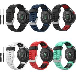 MoKo for Garmin Forerunner 235 Watch Band, Soft Silicone Rep
