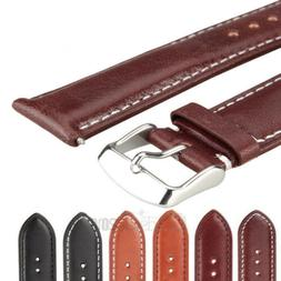Genuine Leather Watch Strap Band Watchband TWISTER Mens Stai