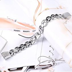 Genuine Stainless Steel Watch Band Wrist Strap For Fitbit Al