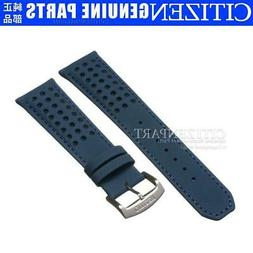 Genuine Citizen Watch Band for AT8020-03L H800-S081165 Blue