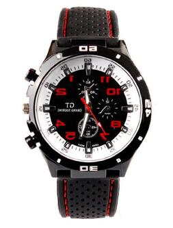 Fanmis GT Racer Sport Watch Military Pilot Aviator Army Styl