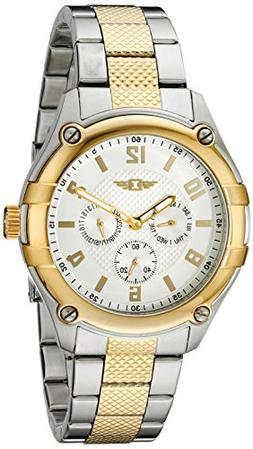 I By Invicta Men's 43659-002 Silver Dial Two-Tone Stainless