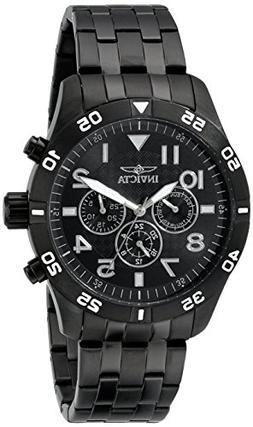 Invicta Men's I-Force Chronograph Black IP Steel Bracelet an