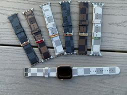 I Watch band leather for Apple watch Series SE 6  5 4 3 2 1