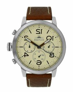 Tommy Hilfiger Men's Jake 1791230 Brown Leather Quartz Watch