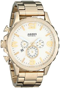 Fossil Men's JR1479 Nate Chronograph Stainless Steel Watch -