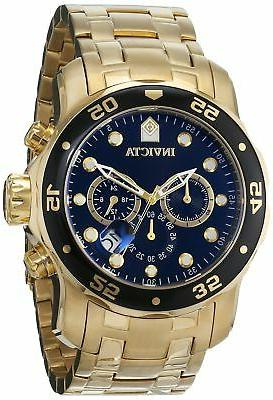 0072 diver collection chronograph gold